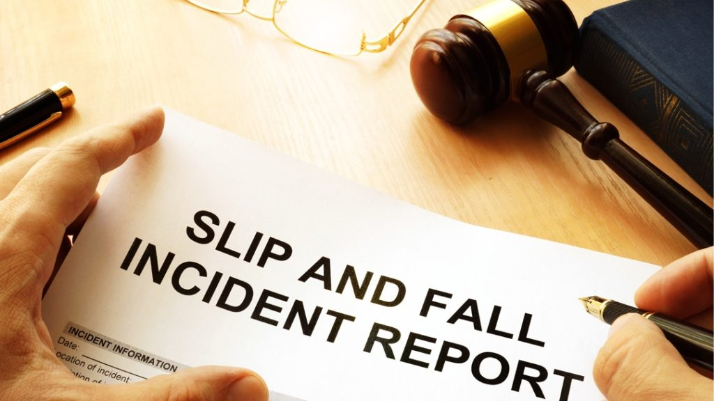 Claim For A Slip And Fall Accident