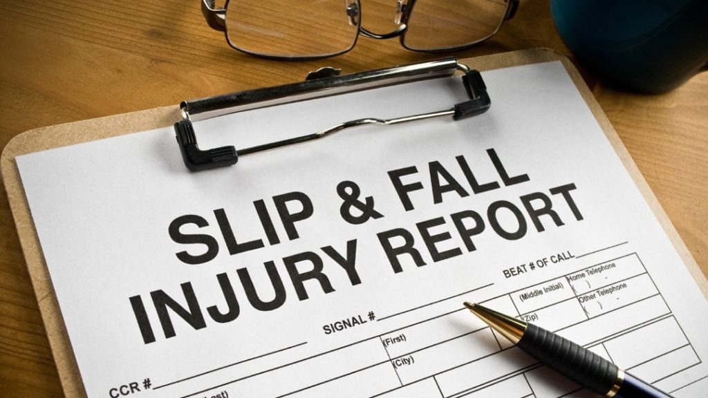 Sue For Slip And Fall Injuries