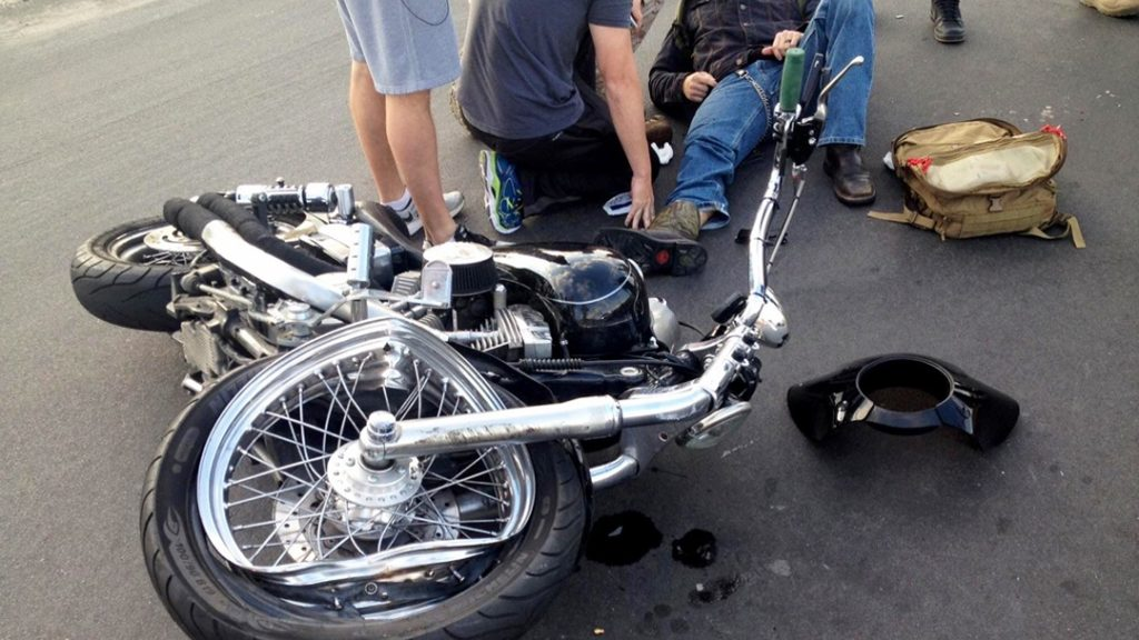 motorcycle accident bronx street