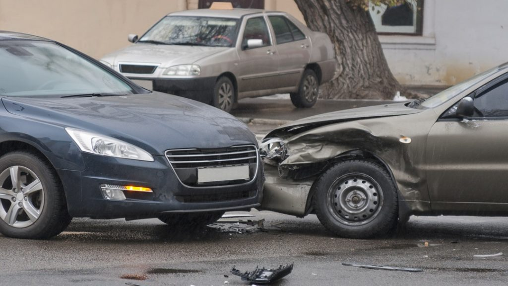 vehicle accident failure yield